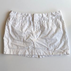 Old Navy White Cotton Mini Skirt Sz 10